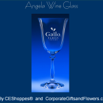 Angela Engraved Wine Glasses
