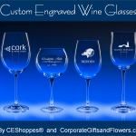 Custom Engraved Wine Glasses