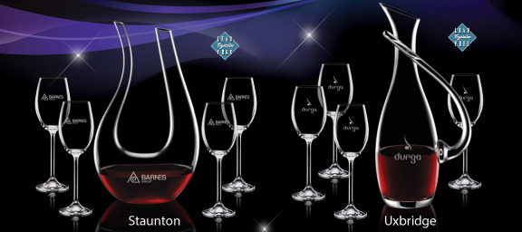 Engraved Wine Glasses as Corporate Gifts – Engraving vs. Imprinting