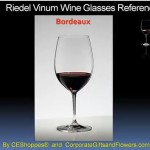Riedel Bordeaux Engraved Wine Glasses