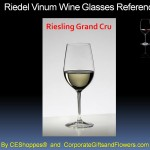 Riedel Riesling Grand Cru engraved wine glasses