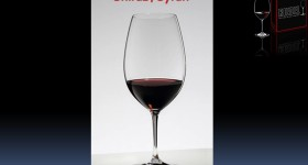 Riedel Vinum Shiraz Engraved Wine glasses